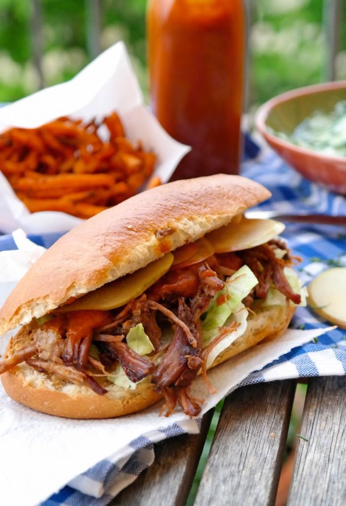 Pulled Beef Sandwich