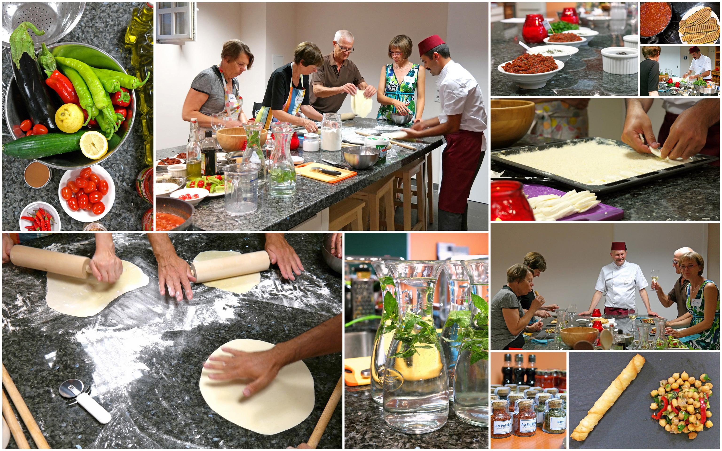 """Mein Kochseminar """"Anatolisch kochen"""" hatte erfolgreich Premiere!"""