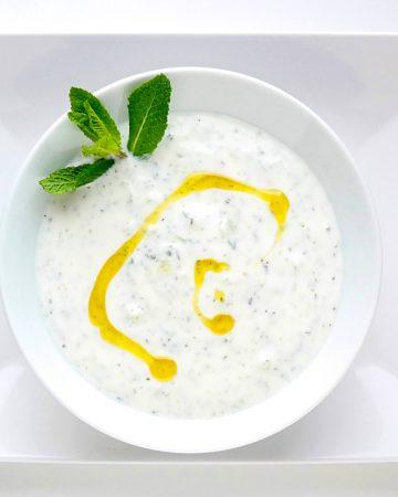 Gurkenjoghurt – Cacık