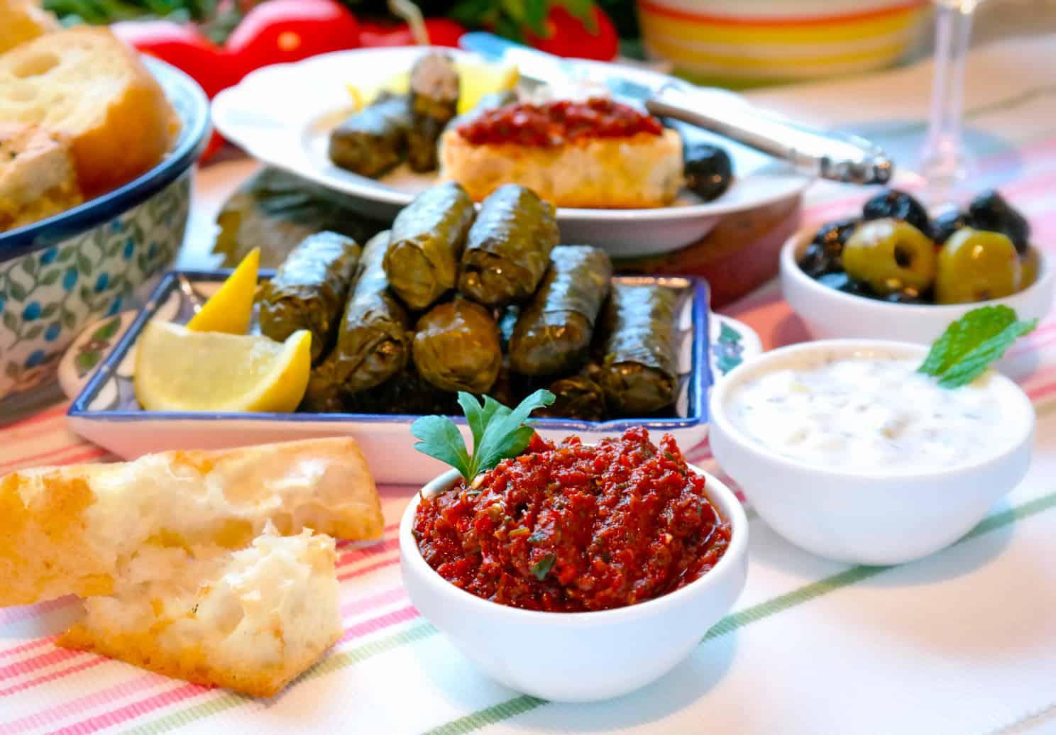 Türkische Vorspeisen - Meze