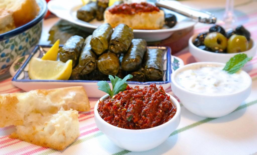 Türkische Vorspeisen - Meze - So nach Gefühl