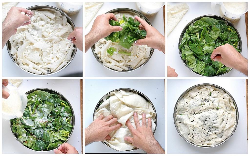 Zubereitung Börek