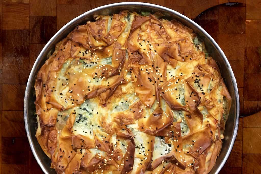 Foto: Börek mit Spinat und Schafskäse