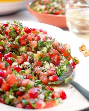 Löffelsalat – Gavurdağı Salatası