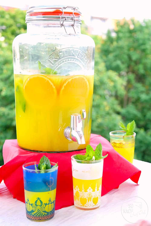 Zitronen-Orangen Limonade - Limon Şerbeti