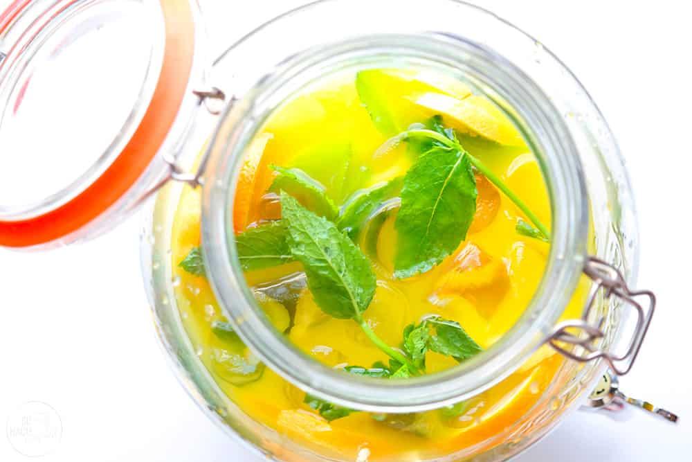 Zitronen-Orangen Limonade – Limon Şerbeti