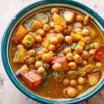 Schnelles Kichererbsen-Curry