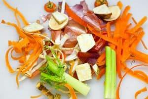 Gemüsereste aus dem Scheppche