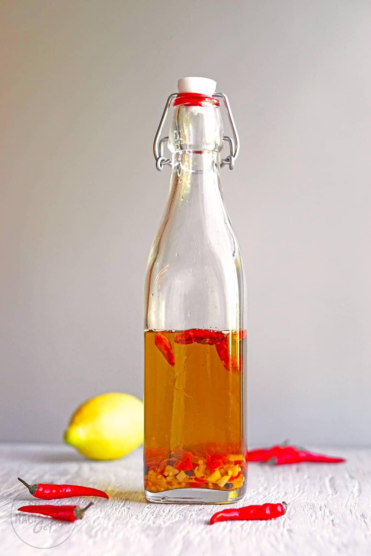 Piri-Piri Öl mit Zitronenaroma