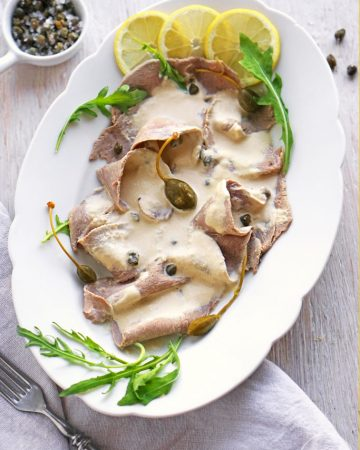 Vitello Tonnato, traditionell