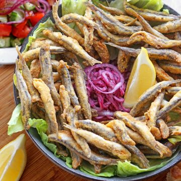 Hamsi – anatolische, frittierte Sardellen