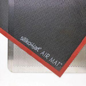 Silikon Air-Matte und Lochblech