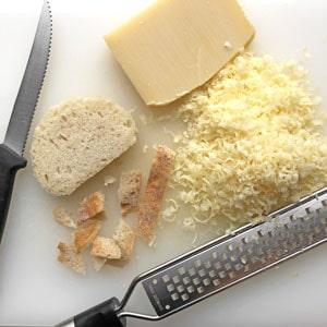 Käse zum Gratinieren