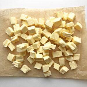 eiskalte Butter