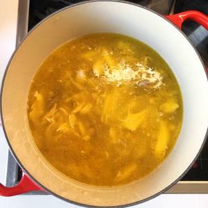 Pilav kochen
